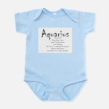 Aquarius Traits Baby Light Bodysuit