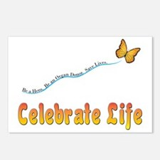 CelebrateLife2a Postcards (Package of 8)