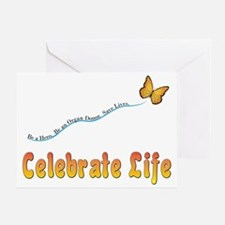 CelebrateLife2a Greeting Card