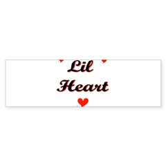 Lil Heart Bumper Bumper Sticker
