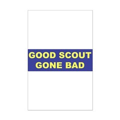 Good Scout Gone Bad (Blue) Posters