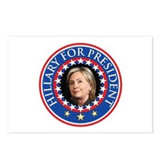 Hillary for President - Presidential Seal Postcard