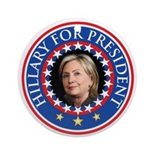 Hillary for President - Presidential Seal Ornament