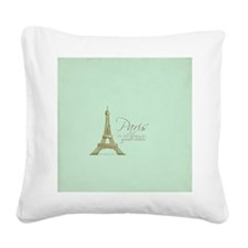 Paris Is Always a Good Idea  Square Canvas Pillow