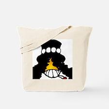 Slash Smiley Tote Bag