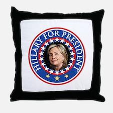 Hillary for President - Presidential Seal Throw Pi