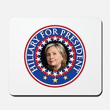Hillary for President - Presidential Seal Mousepad