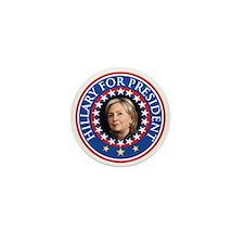Hillary for President - Presidential Seal Mini But
