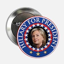 """Hillary for President - Presidential Seal 2.25"""" Bu"""