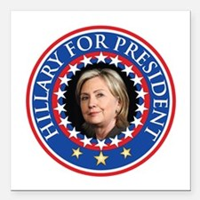 Hillary for President - Presidential Seal Square C