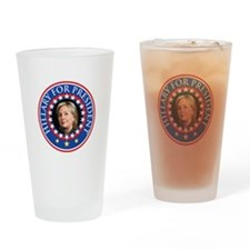 Hillary for President - Presidential Seal Drinking