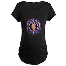 Hillary for President - Presidential Seal Maternit