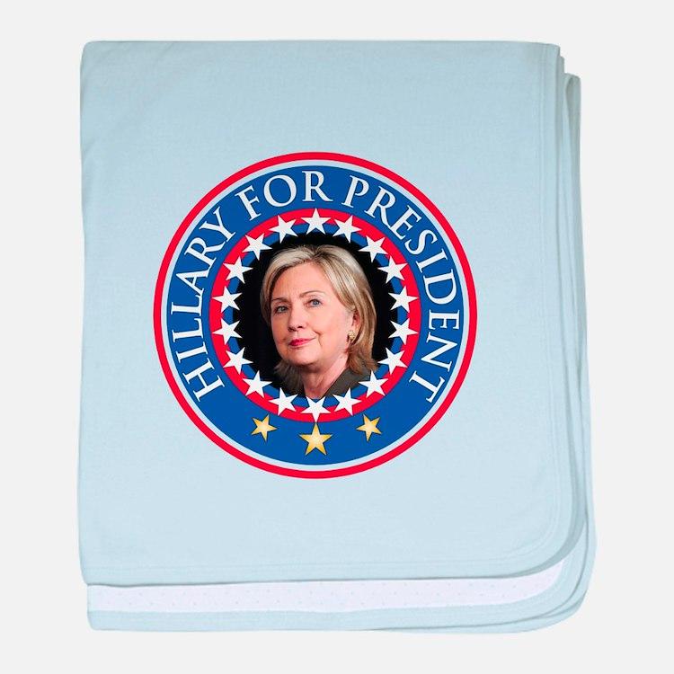 Hillary for President - Presidential Seal baby bla