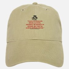 HUNTER S. THOMPSON QUOTE (ORIG) Baseball Baseball Cap