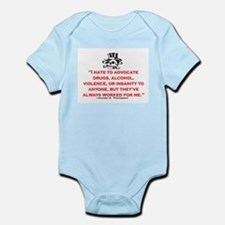 HUNTER S. THOMPSON QUOTE (ORIG) Infant Bodysuit