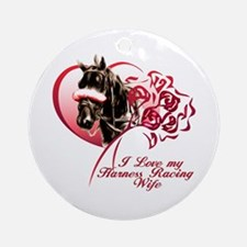 Love Harness Wife Ornament (Round)