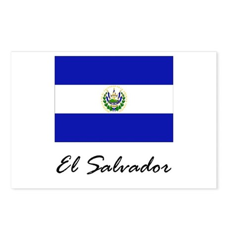 El Salvador Postcards (Package of 8)