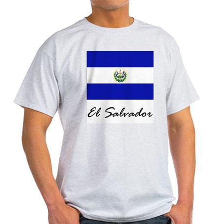 El Salvador Ash Grey T-Shirt