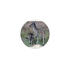 Kangaroos Mini Button (100 pack)