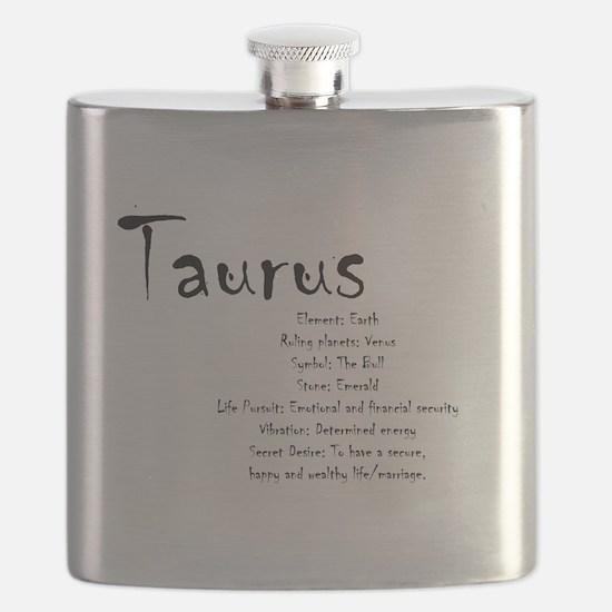 Taurus Traits Flask