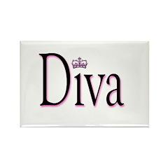 Diva Rectangle Magnet
