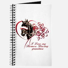 Love Harness Grandma Journal