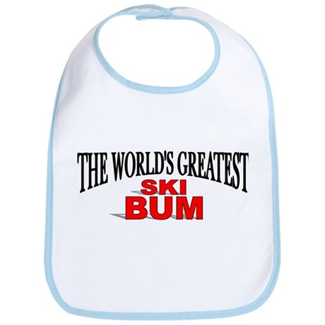 """The World's Greatest Ski Bum"" Bib"
