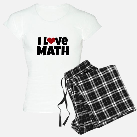 I Love Math Pajamas