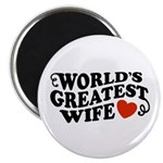 World's Greatest Wife Magnet
