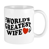 World\'s greatest wife Coffee Mugs