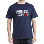 World's Greatest Wife Dark T-Shirt
