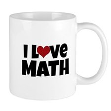 I Love Math Mugs