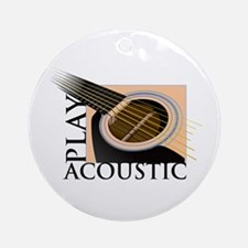 Play Acoustic Ornament (Round)