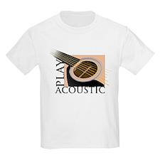 Play Acoustic Kids T-Shirt