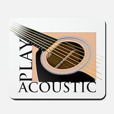 Play Acoustic Mousepad