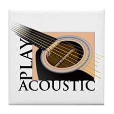 Play Acoustic Tile Coaster