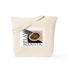 Play Acoustic Tote Bag