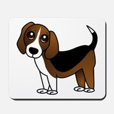Beagle Cartoon Dog Mousepad