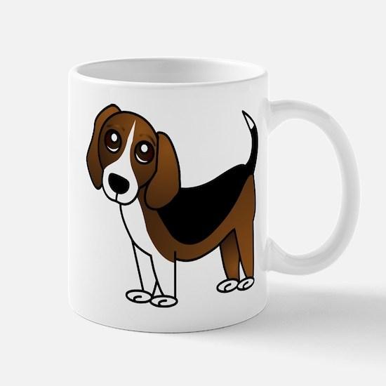 Beagle Cartoon Dog Mug