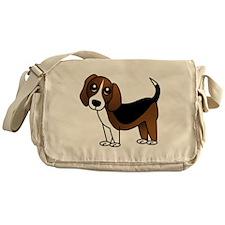 Beagle Cartoon Dog Messenger Bag