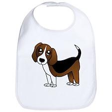 Beagle Cartoon Dog Bib