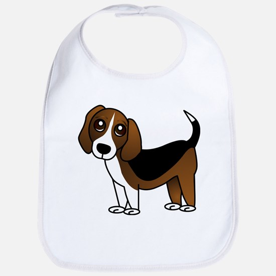 Beagle Cartoon Dog Bib