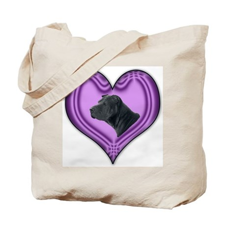 Shar Pei Heart Tote Bag