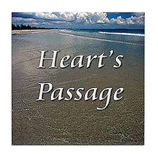 Heart's Passage Tile Coaster