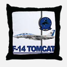 VF-213 Blacklions Throw Pillow