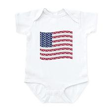 PEACE FLAG Infant Bodysuit
