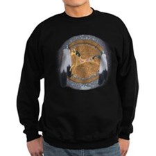 Southwestern Style Running Horse Sweatshirt