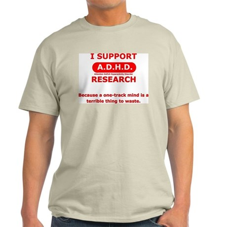 Support ADHD Research Light T-Shirt