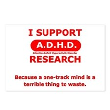 Support ADHD Research Postcards (Package of 8)