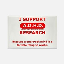 Support ADHD Research Rectangle Magnet